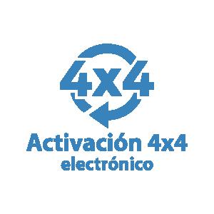 Activación 4x4 electrónico